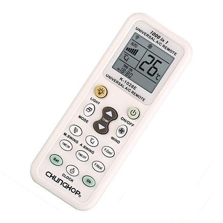 Hình ảnh Remote máy lạnh đa năng MUA TỐT (Trắng)