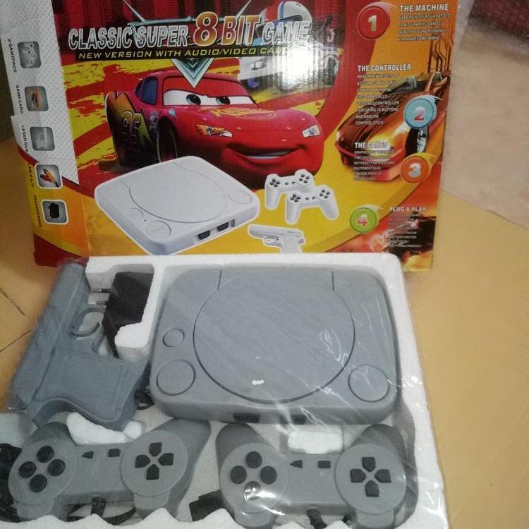 Máy chơi game 4 nút CLASSIC SUPPER 8BIT tặng 1 băng game