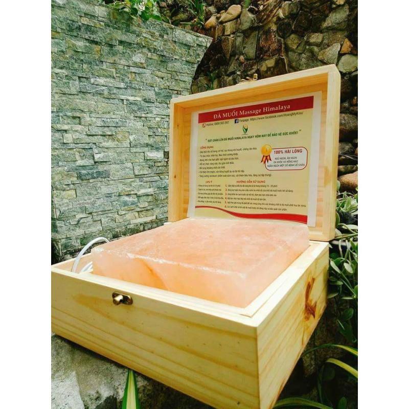 Hộp Đá Muối Massage Chân Himalaya nhập khẩu