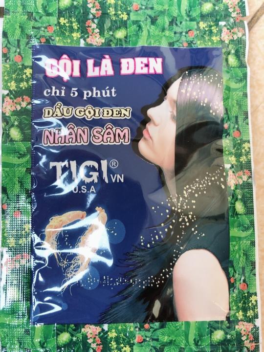 Dầu gội đen tóc thảo dược - Gội là đen 10 gói