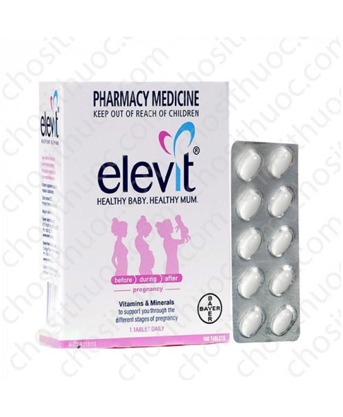 Vitamin tổng hợp Elevit cho bà bầu