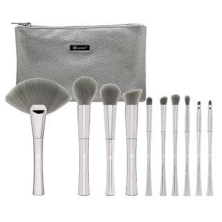 Bộ cọ trang điểm Bh Cosmetics Smoke n Mirrors - 10 Piece Metalized Brush Set thumbnail