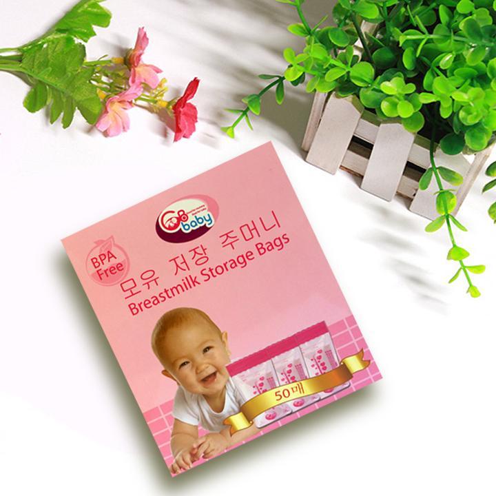 Túi trữ sữa GB Baby Hàn Quốc 250ml - Hộp 50 túi