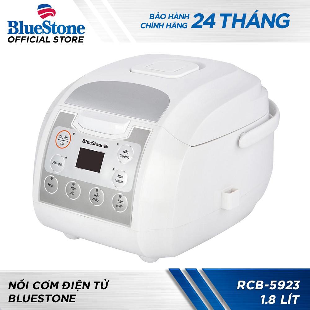 Nồi Cơm Điện Tử Bluestone RCB-5923 1.8L (Trắng)