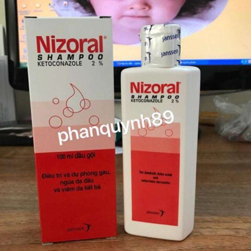Nizoral trị nấm da đầu 100ml nhập khẩu
