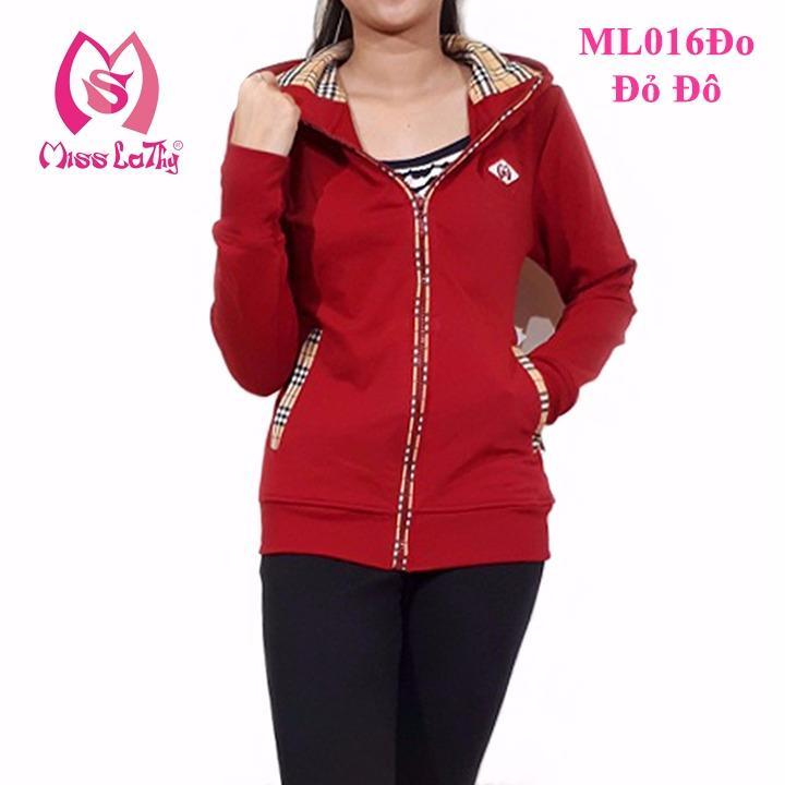 Giá Bán Ao Khoac Nữ Caro M5 Miss Lathy Ml016Đo Đỏ Nguyên Miss Lathy