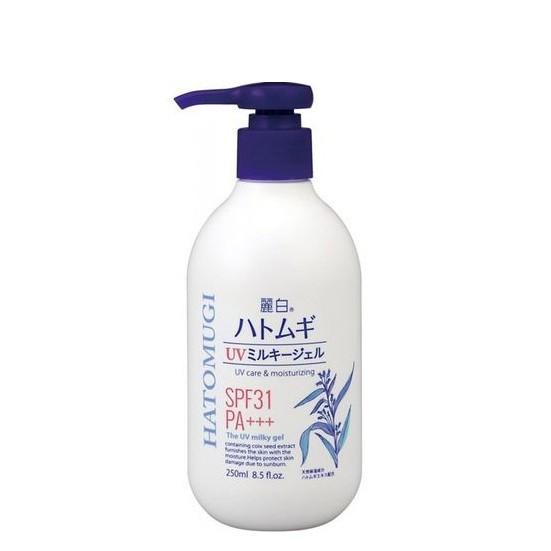 Sữa Dưỡng Thể Trắng Da Và Chống Nắng Hatomugi Nhật Bản 250ml SL35 nhập khẩu