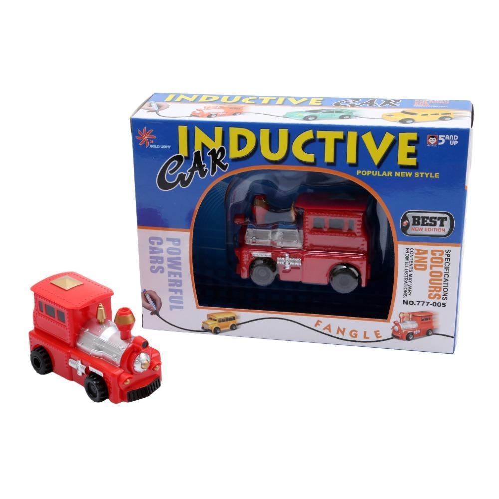 Hình ảnh Ô tô đồ chơi chạy theo nét vẽ Inductive 777 cho bé vô cùng bất ngờ