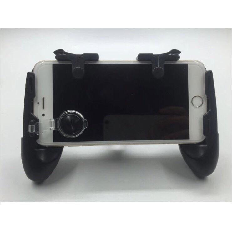 Hình ảnh 3in1 Bộ tay cầm game kèm joystick và bộ 2 nút controller chơi game PUBG C9 , liên quân mobile