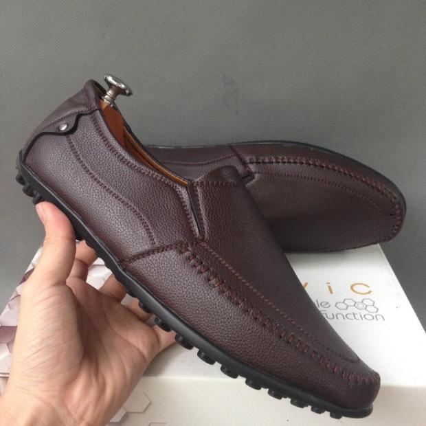 Giày mọi nam da bán chạy chỉ 3 ngày sale giá gốc rẻ bền đẹp hot trend 2019 giá rẻ