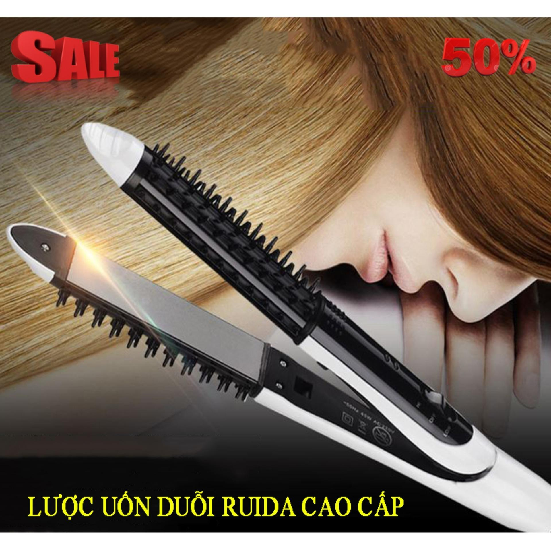 Mua Lược điện uốn tóc Ruida 3 in 1 giá tốt, Lược điện uốn tóc đa năng, tạo kiểu tóc Nhanh - Đẹp - Hàng cao cấp nhập khẩu nguyên chiếc  Bảo hành 1 đổi 1 nhập khẩu
