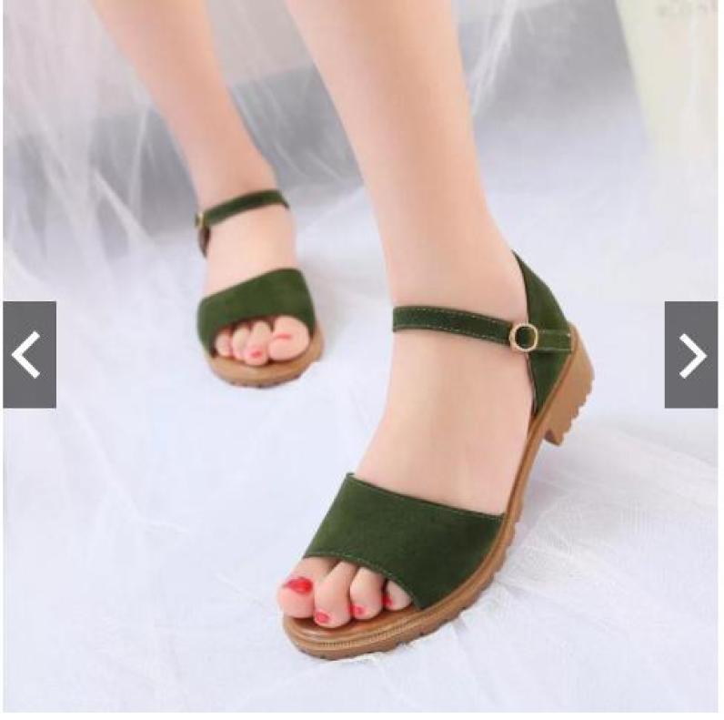 Giày sandal MYS quai ngang đế chiến binh giá rẻ