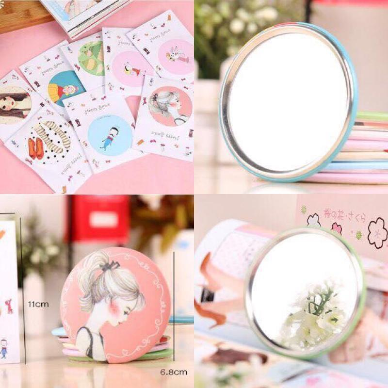 Gương trang điểm mini bỏ túi