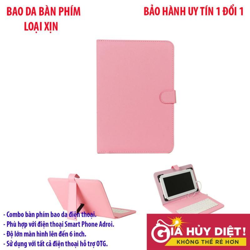 Bàn phím không dây cho điện thoại , Ban phim khong day cho iphonee - Combo trọn bộ bao da bàn phím giá tốt, hàng chất Mẫu 308 - Bh uy tín 1 đổi 1 bởi HDSHOP