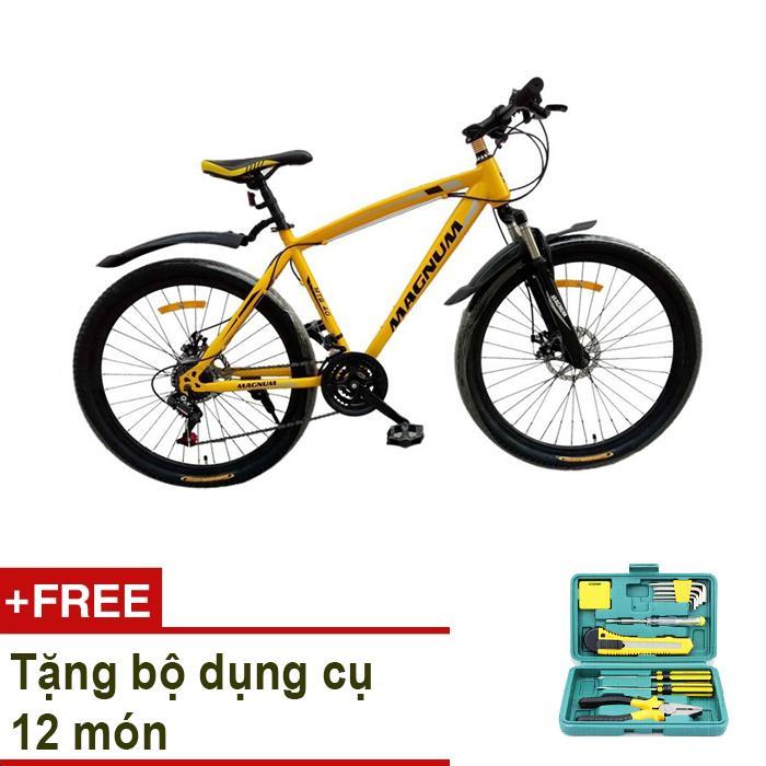 Xe đạp thể thao MAGNUM Model MTB-P040 + Tặng bộ dụng cụ 12 món