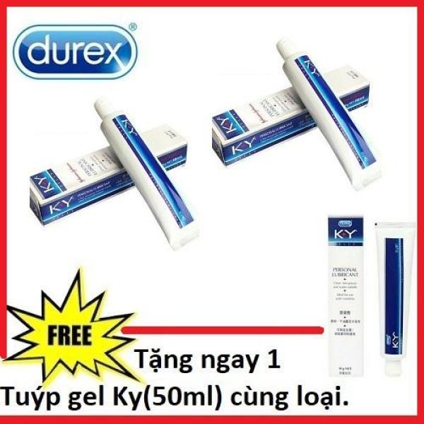 Bộ 2 gel bôi trơn KY (Thái Lan) 50ml + Tặng 1 tuýp cùng loại