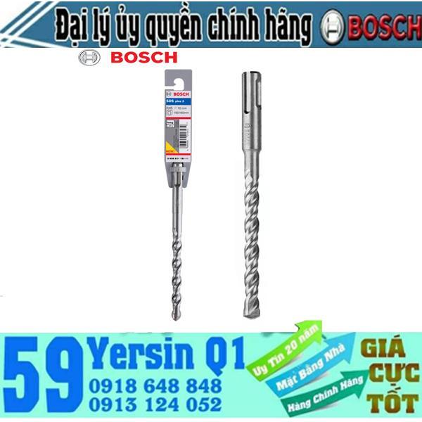 Mũi khoan bê tông chuôi gài 4 khía Bosch SDS plus 3 18x400/450mm - 2608831410
