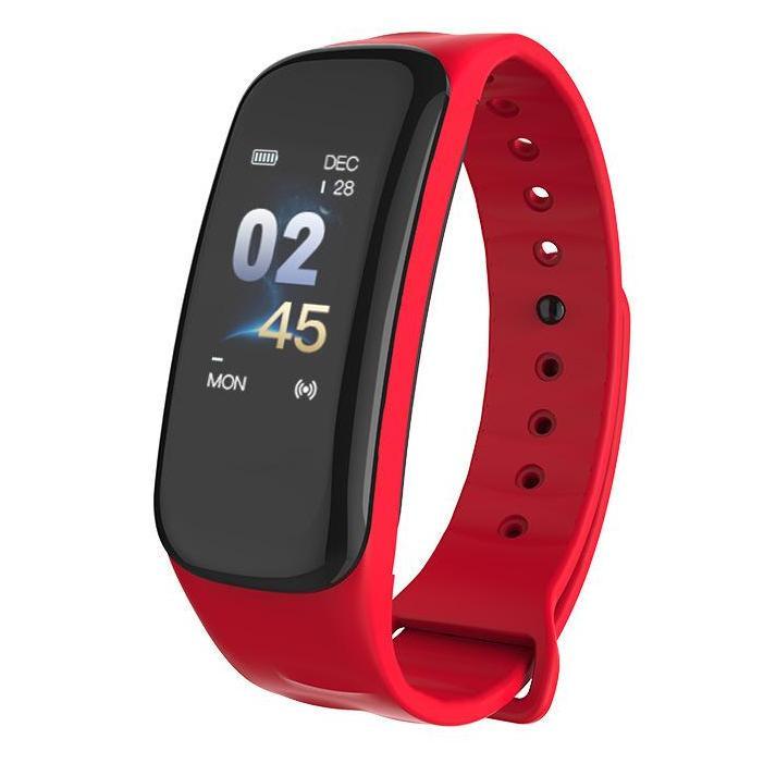 Hình ảnh Vòng đeo tay thông minh Wearfit C1 PLUS , Đo nhịp tim, đo huyết áp, theo dõi vận động (Màn hình màu)
