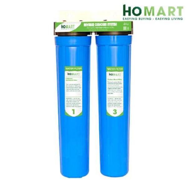 Bộ lọc nước sinh hoạt 2 cấp ly 20