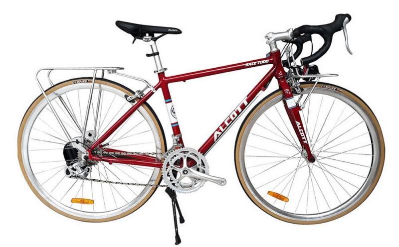 Phân phối Xe đạp cuộc Alcott Race 7000 Classic Red