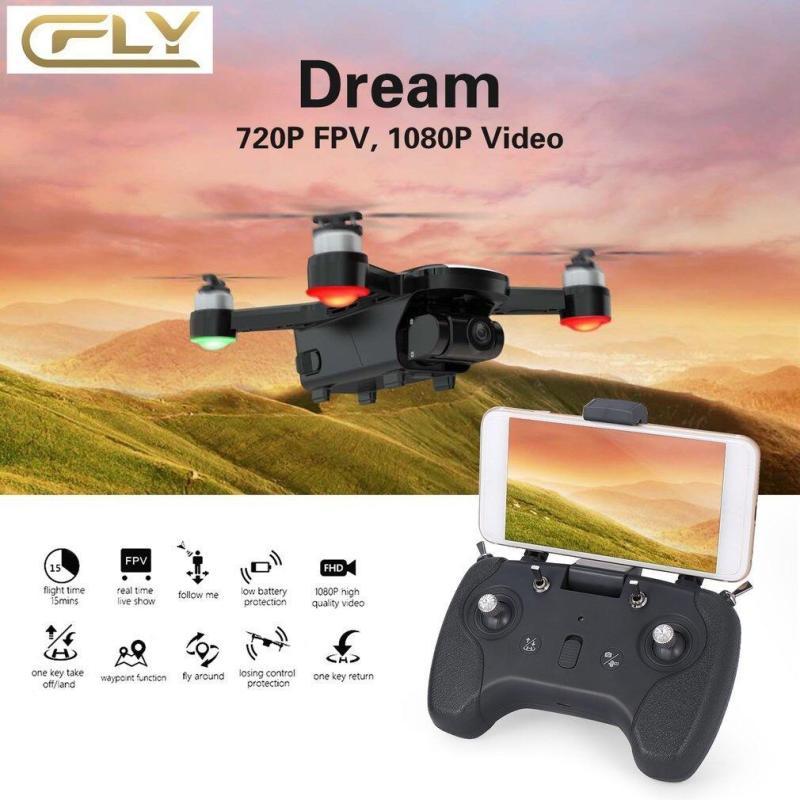 Máy Bay Flycam C-Fly Dream Gimbal 2 trục, 1080P HD Camera, đông cơ không chổi than đối thủ của DJI Spark