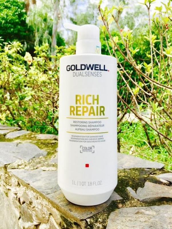 Kem hấp Goldwell 60s – Kem hấp siêu chữa trị tóc hư tổn Goldwell 1000ml nhập khẩu