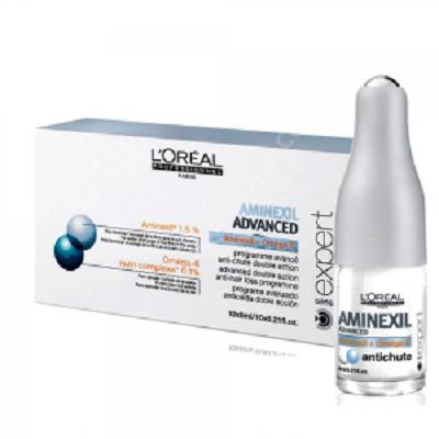 Tinh chất chống rụng và giúp mọc tóc Loreal Aminexil Control 6ml tốt nhất