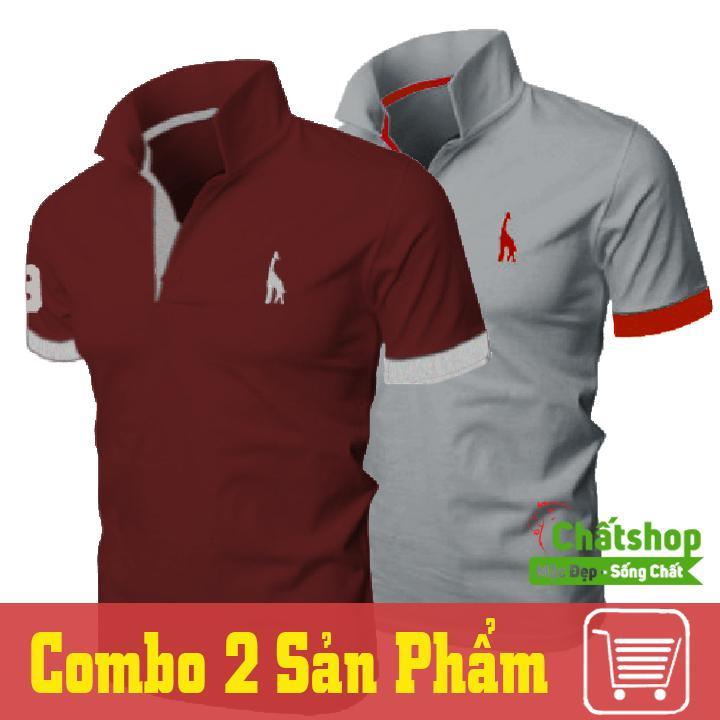Bán Combo 2 Ao Thun Polo Hươu Đỏ Xam Rẻ Trong Hồ Chí Minh