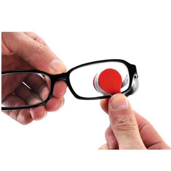 Giá bán Giá trung thu Dụng cụ lau mắt kính nhỏ gọn, tiện lợi ( màu ngẫu nhiên)