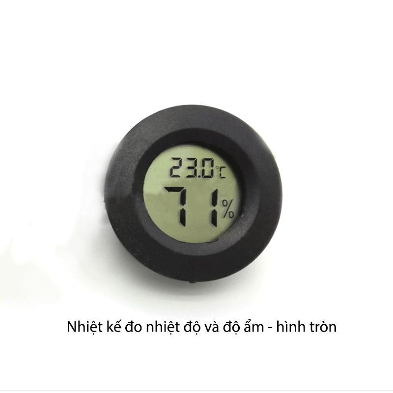 Nơi bán Nhiệt kế đo nhiệt độ kiêm độ ẩm đa năng (hình tròn)