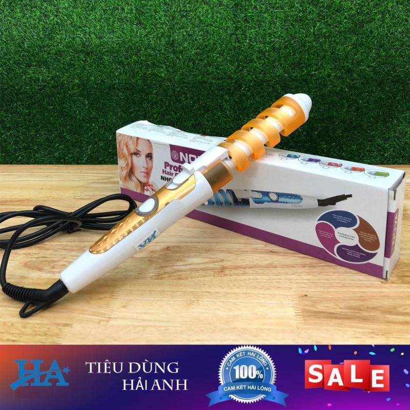 Máy uốn tóc xoăn ốc tự động Nova, máy làm xoăn tóc - GDHK514 giá rẻ