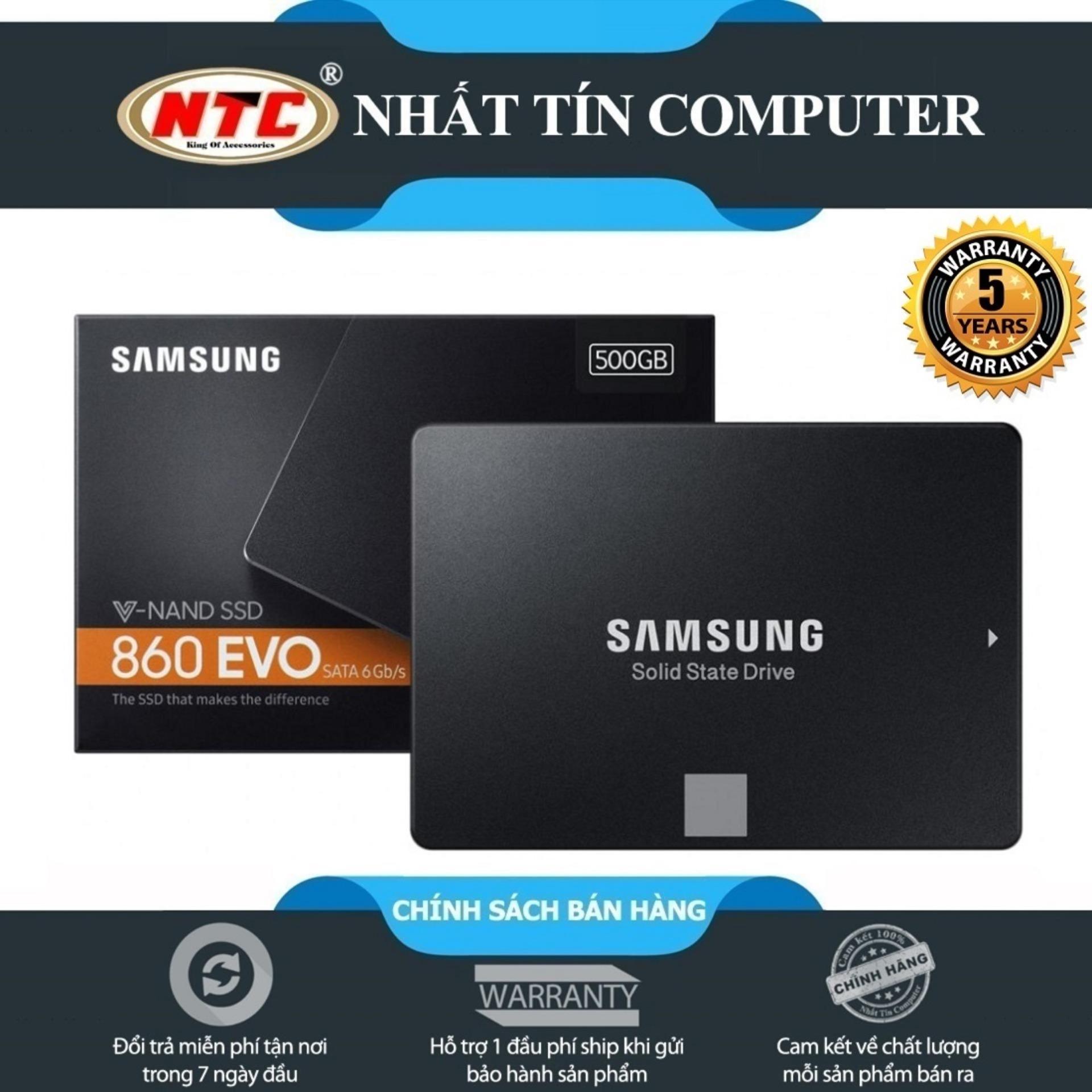 Hình ảnh Ổ cứng SSD Samsung 860 Evo 500GB 2.5-Inch SATA III - box Anh (Đen)