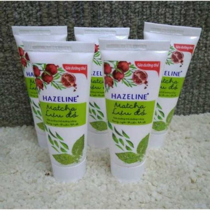 Combo 20 tuýt sữa dưỡng thể Hazeline 15g + Tặng 1 ví cầm tay xinh xắn nhập khẩu