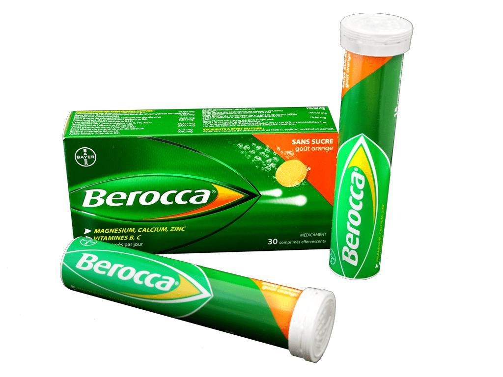 Viên sủi bổ sung Vitamin BEROCCA Performance (10 viên/tuýp) nhập khẩu