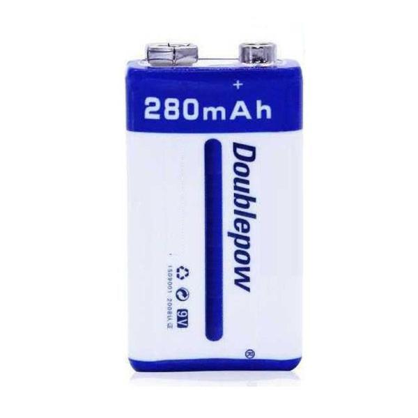 Pin sạc Doublepow 9V-280mAh dung lượng thật cao cấp