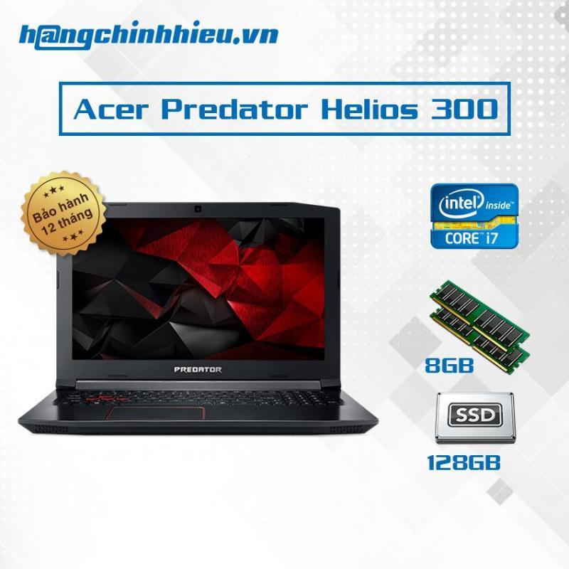 Laptop Acer Predator Helios 300 G3-572-79S6 Hãng phân phối chính thức - Core i7-7700HQ VGA GeForce GTX 1060 1TB 156 inch FHD (1920 x 1080) IPS, Anti-Glare