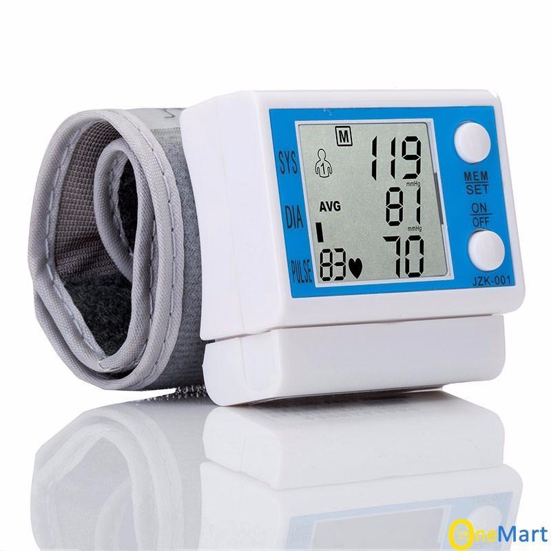 Máy đo huyết áp cổ tay bảo vệ sức khỏe nhập khẩu