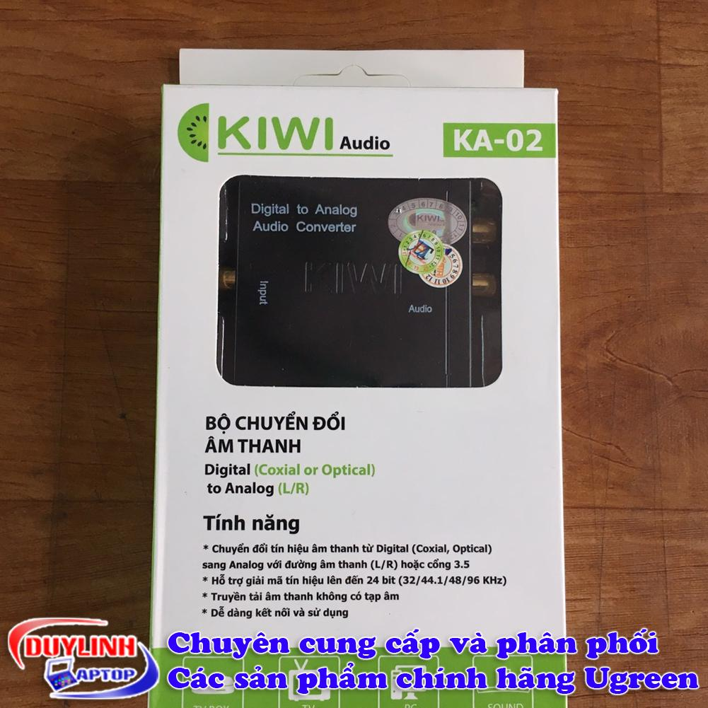 Hình ảnh Bộ chuyển đổi tín hiệu âm thanh từ Audio quang sang AV Kiwi KA-02