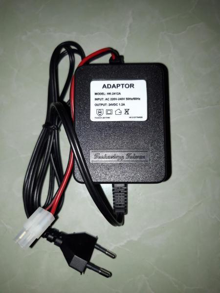 Nguồn đổi điện adapter 24V 1.2A (VN) dùng cho bơm phun sương, lọc nước RO - Chất liệu: nhựa, đồng, điện tử
