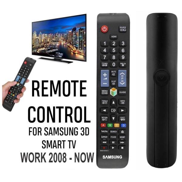 Remote - Điều khiển cho TV SAMSUNG đa năng (Tiêu chuẩn) chính hãng