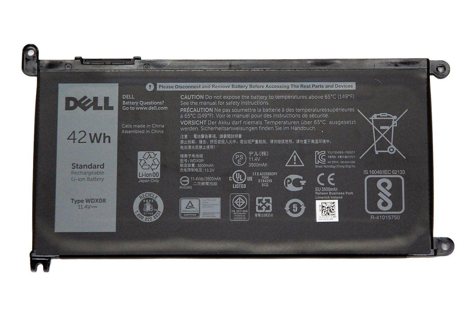 Pin laptop Dell Inspiron 5567