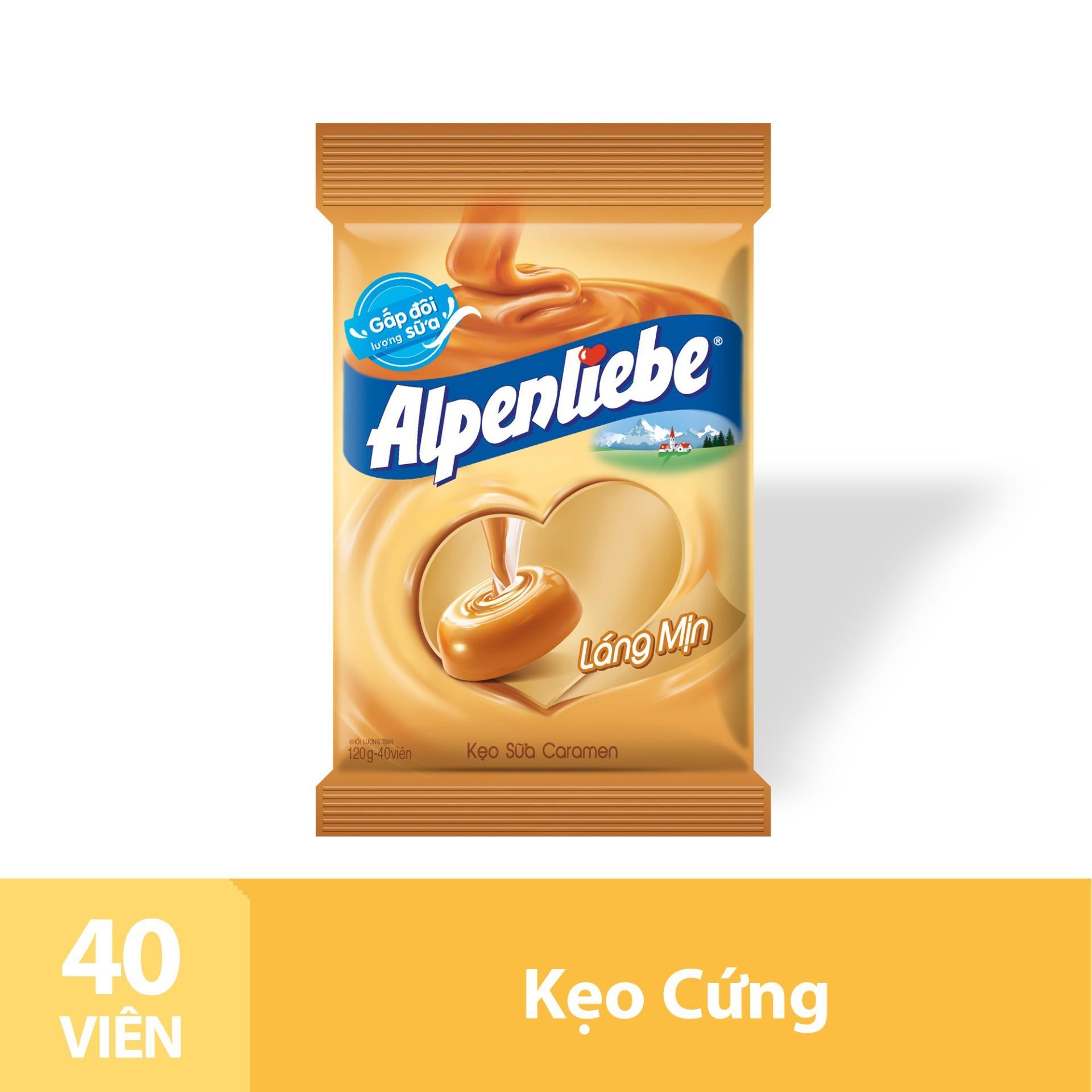 Kẹo Sữa Caramen Alpenliebe Gói 40 Viên Nhật Bản