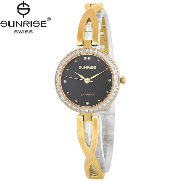 Nơi bán Đồng hồ nữ dây kim loại mặt kính sapphire chống xước Sunrise SL715DLK