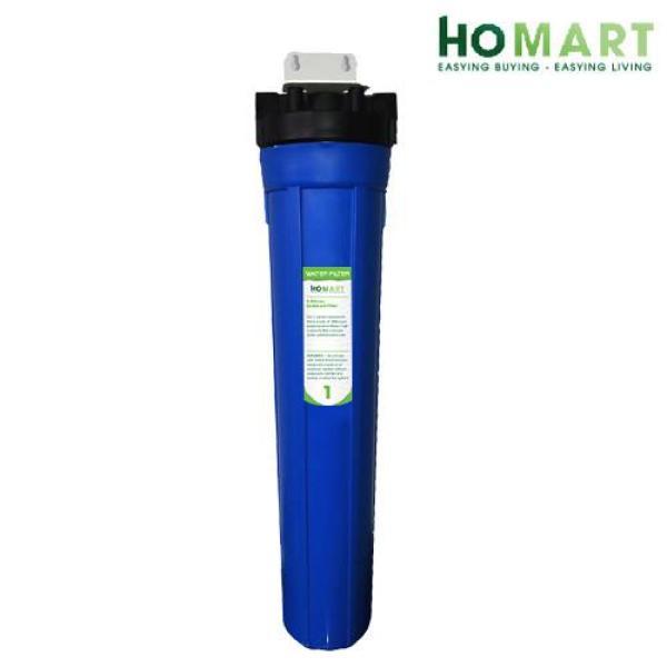Bộ lọc nước sinh hoạt đơn ly 20 inch (Xanh dương) HOMART