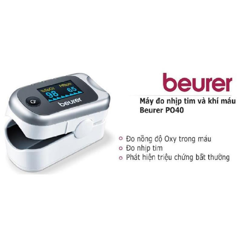 (GIÁ Hủy Diệt) Máy đo khí máu và nhịp tim cá nhân Beurer PO40 bán chạy