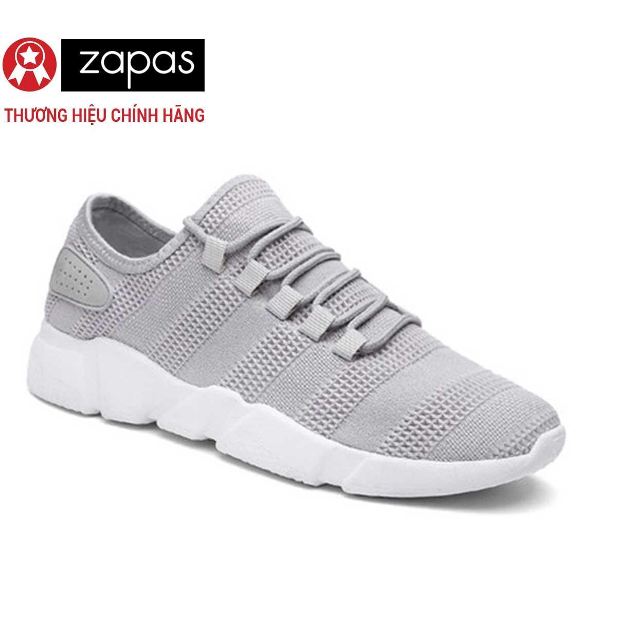 Giày Sneaker Nữ Thời Trang Zapas - GN081 (Xám)