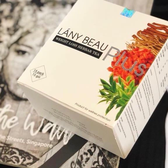 Viên uống Giảm cân - Đẹp da Lány Beau Plus (mẫu mới)  - Liệu trình 15 ngày