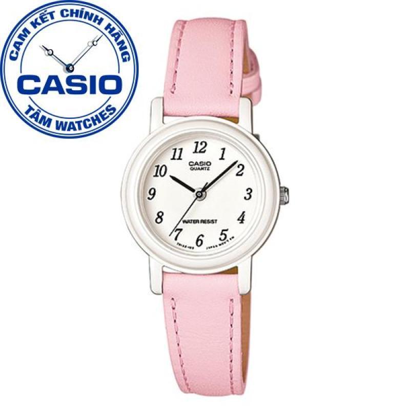 Đồng hồ nữ dây da Casio Standard Anh Khuê LQ-139L-4B1DF