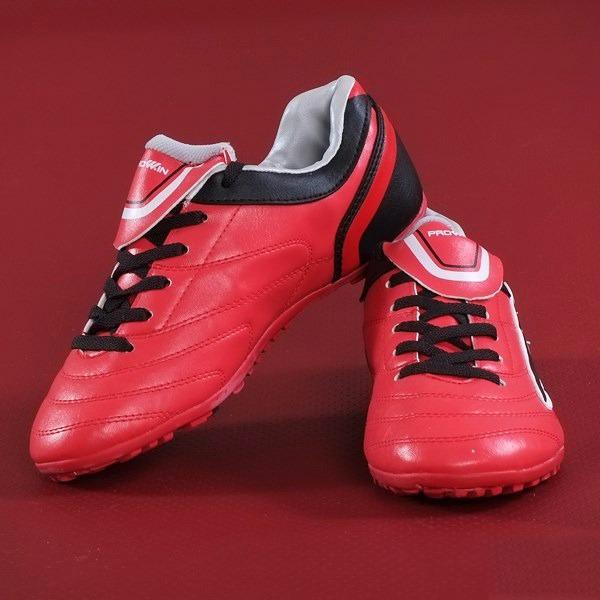 Hình ảnh giày đá bóng prowin trẻ em đỏ
