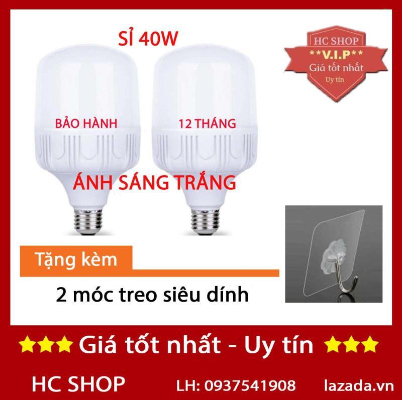 [KMT06] - Bộ 2 bóng đèn Led trụ 40W Siêu sáng - tiết kiệm điện (Trắng)